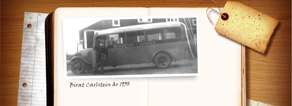 Över 80 års busstradition.